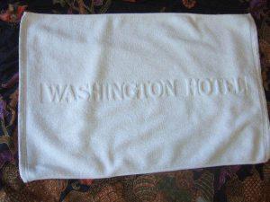 ワシントンホテル バスマット